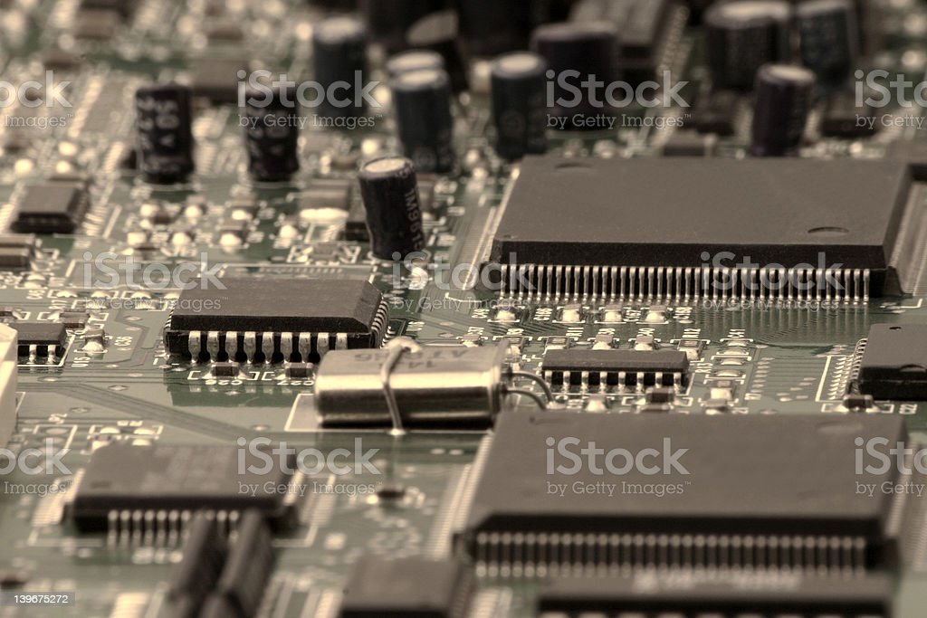 Computer electronic royalty-free stock photo