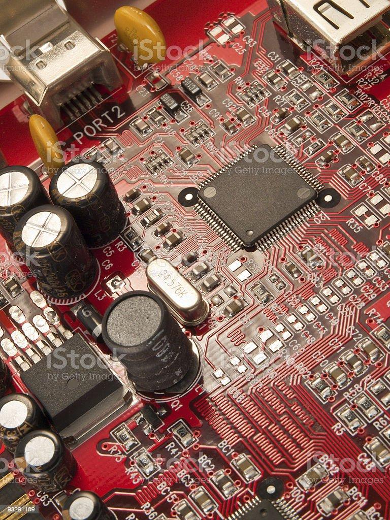 Computer electronics royalty-free stock photo