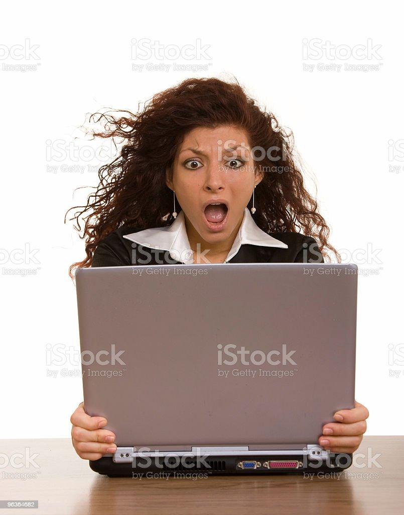 Computer Encounter royalty-free stock photo