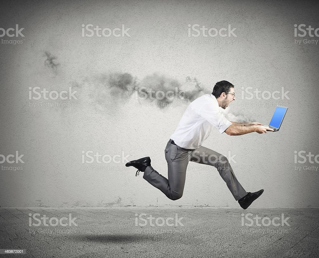 Computer error stock photo