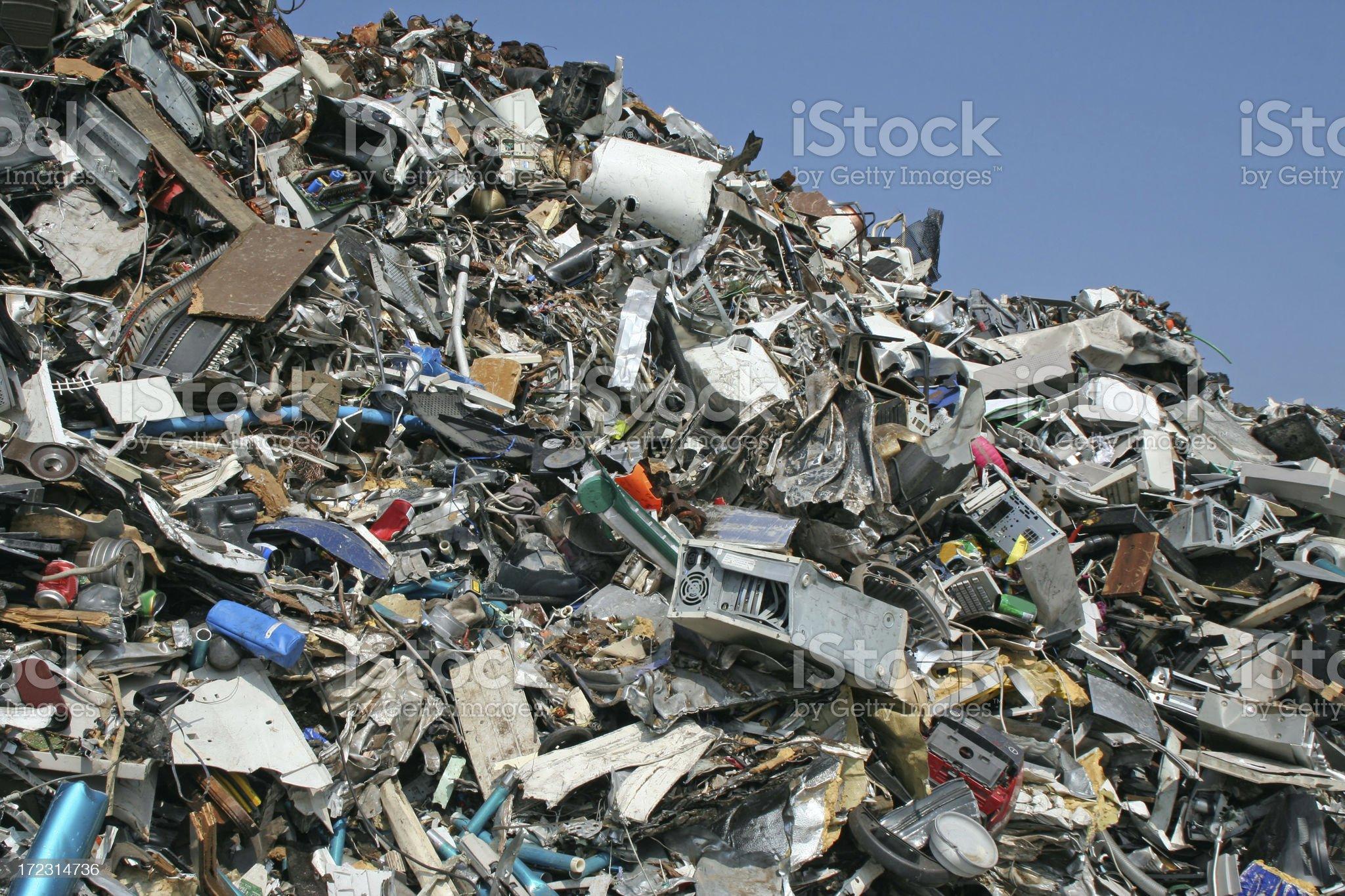 Computer garbage dump # 13 royalty-free stock photo