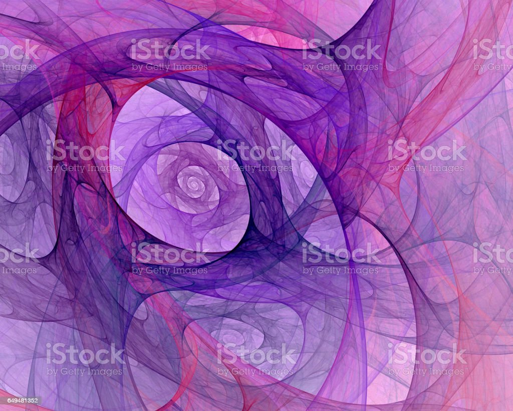 Computer generated fractal with an abstract background image stock photo