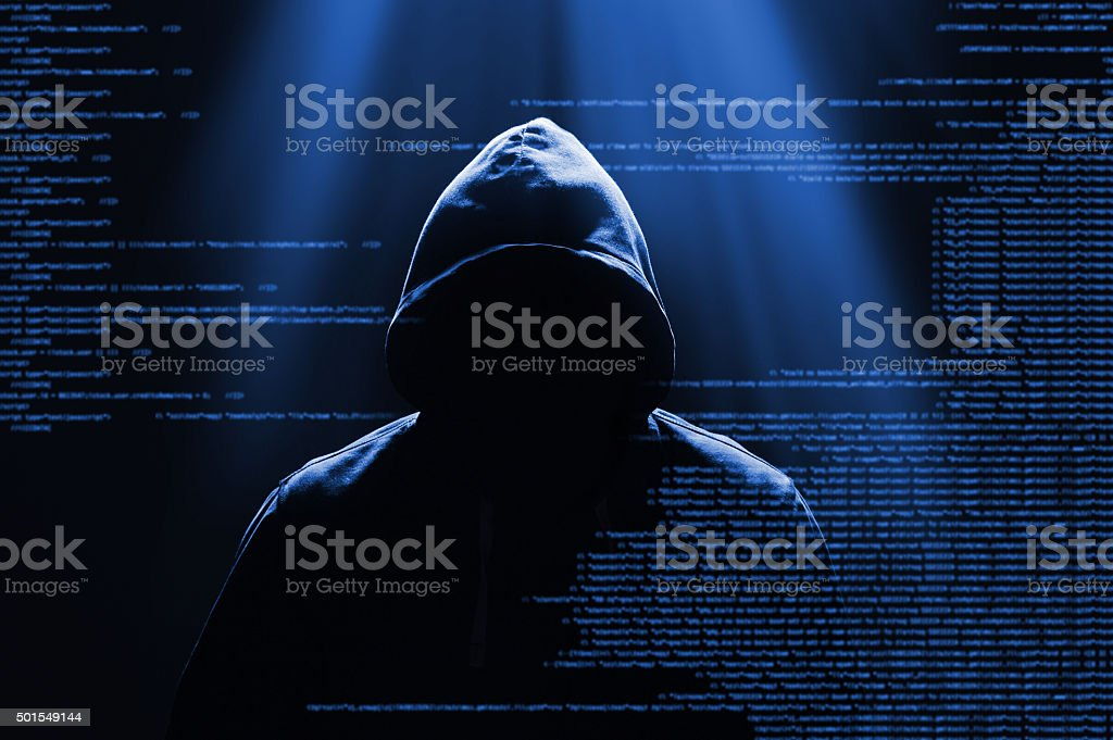 Hacker Concept (Click for more) stock photo