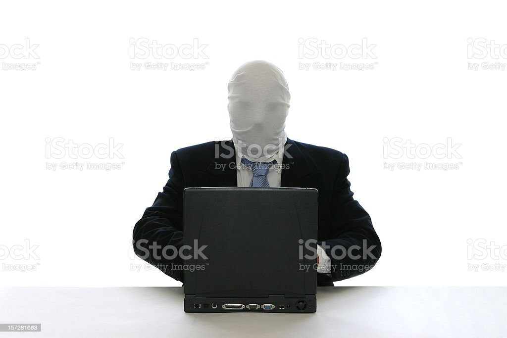 Computer Hacker royalty-free stock photo