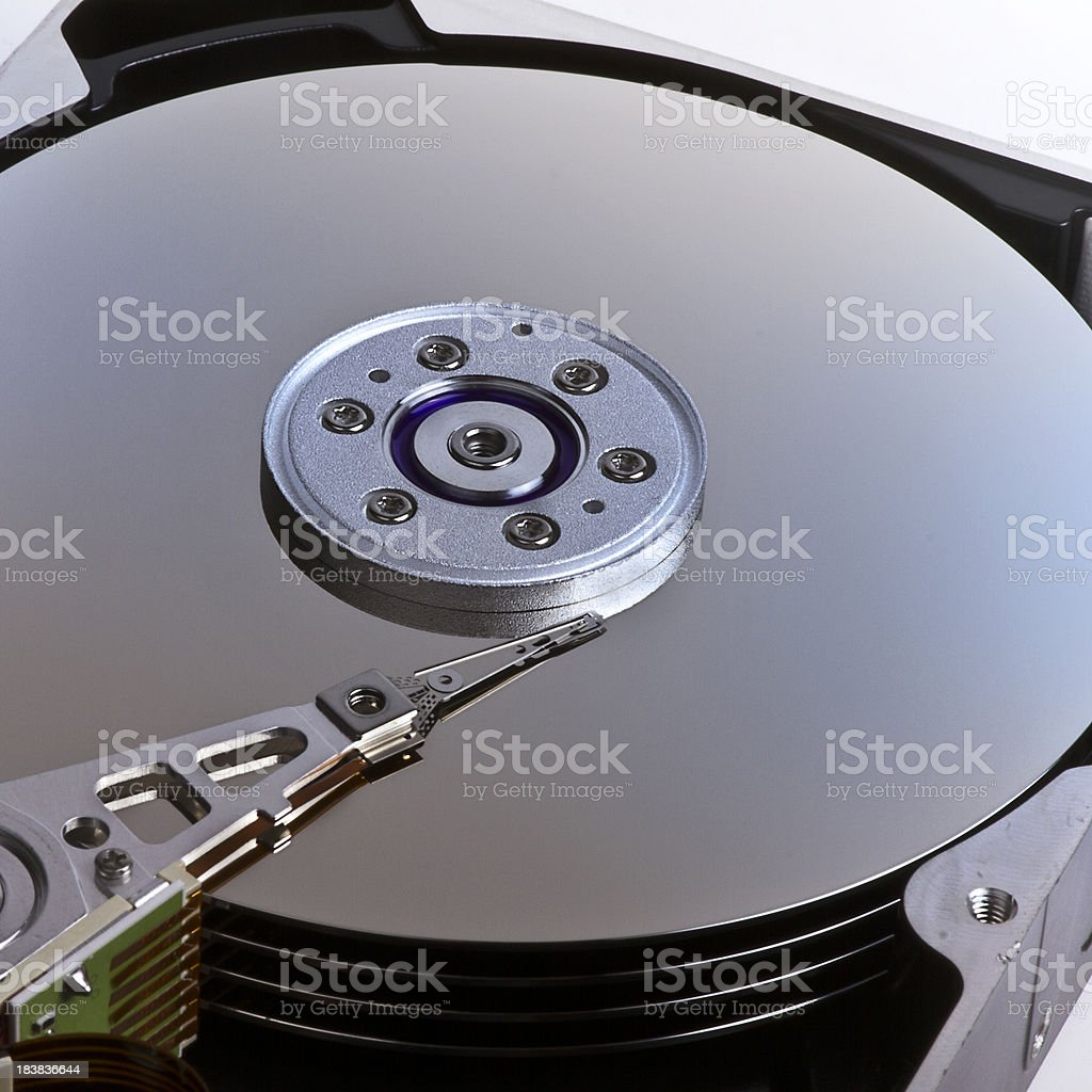 Computer Hard Disk Drive royalty-free stock photo