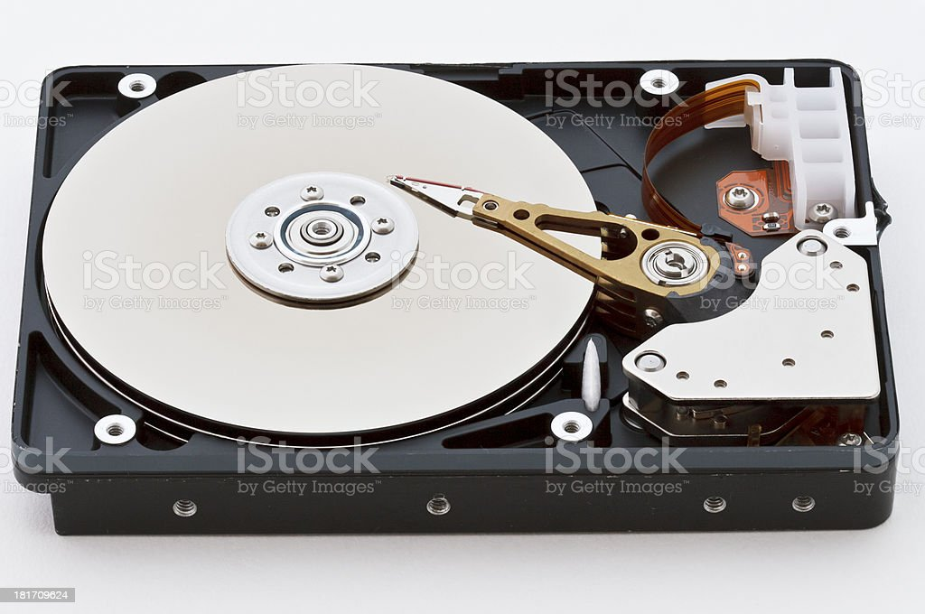 Computer Hard Disk stock photo