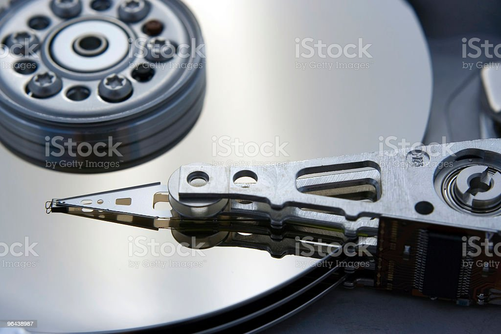 Computer Harddrive royalty-free stock photo