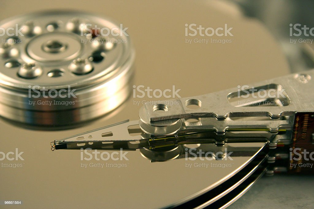 Computer Harddrive royalty-free stock photo