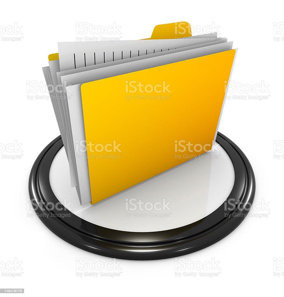 Computer Icon Series royalty-free stock photo