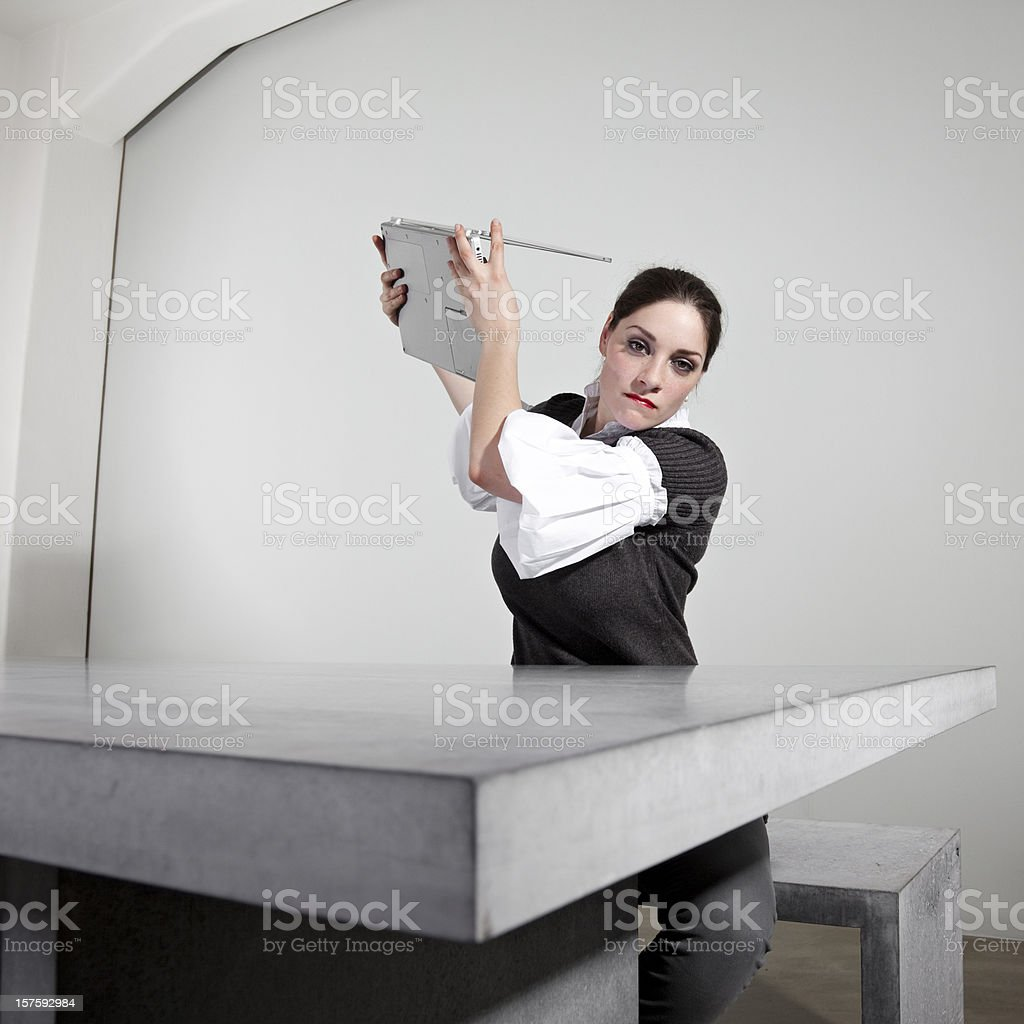 computer issues royalty-free stock photo