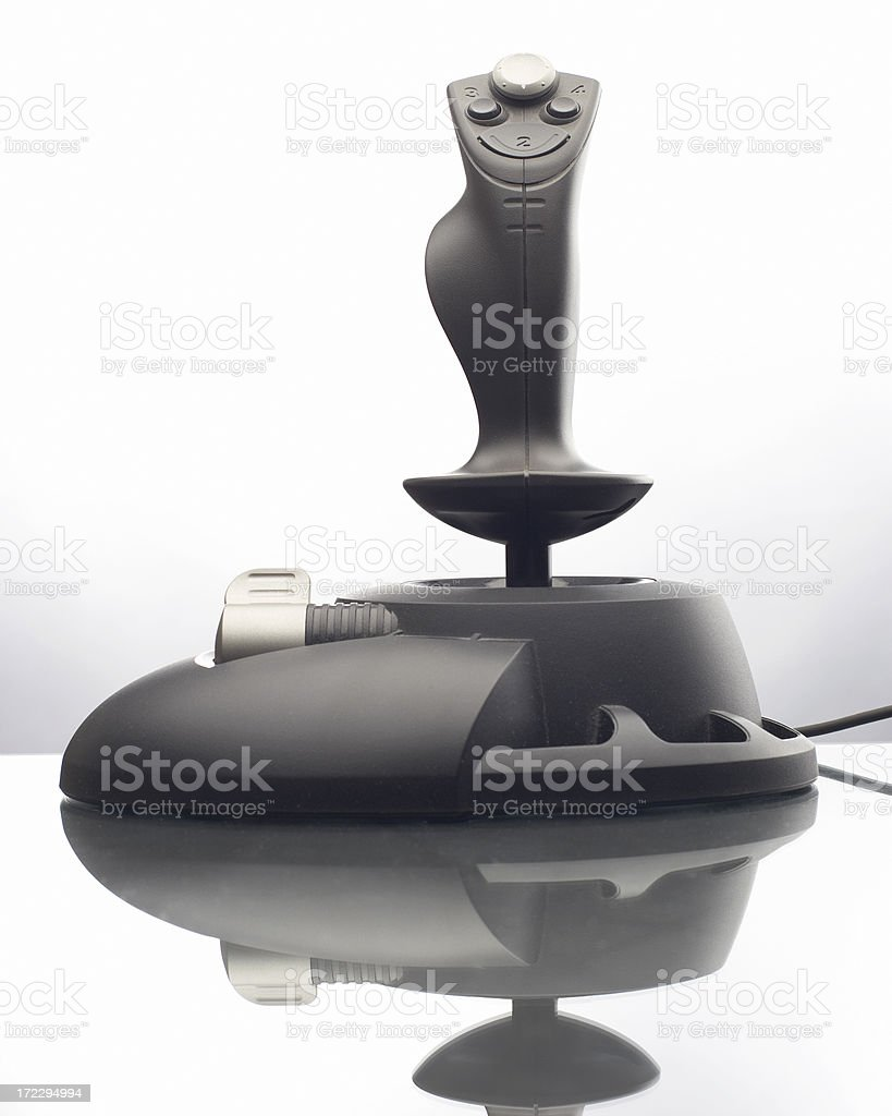 Computer Joystick royalty-free stock photo