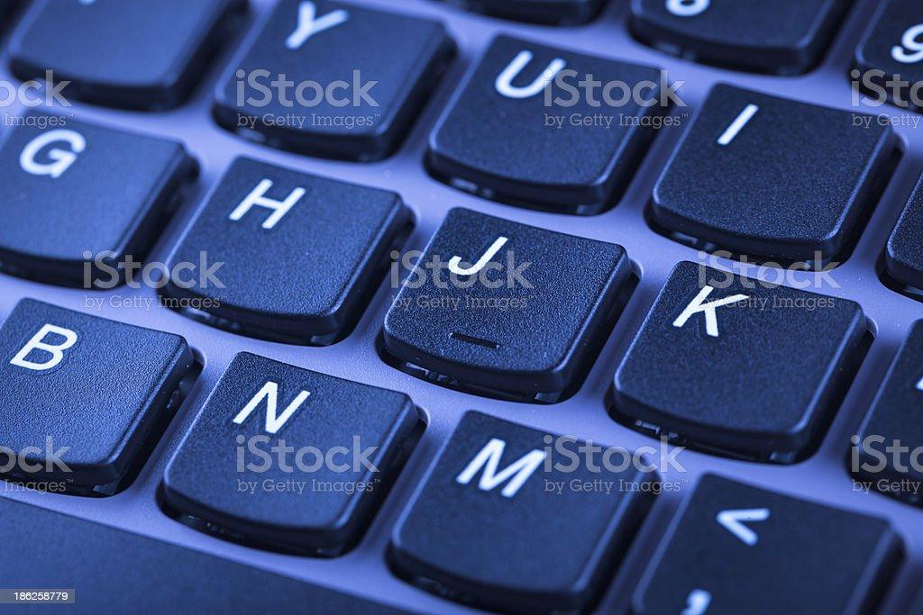computer key board royalty-free stock photo