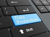 Computer key - Data protection