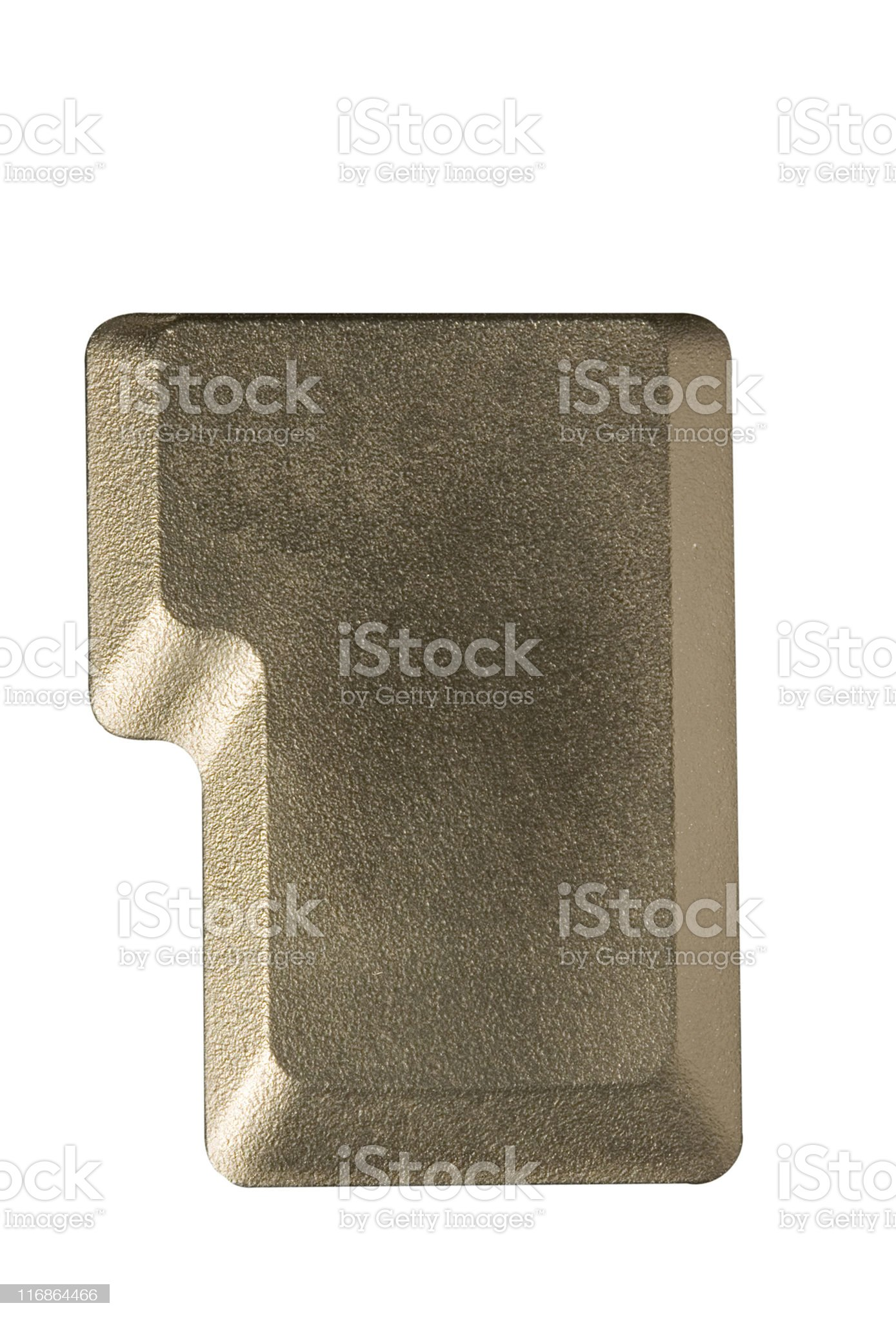 computer key in a keyboard with letter, number and symbols royalty-free stock photo