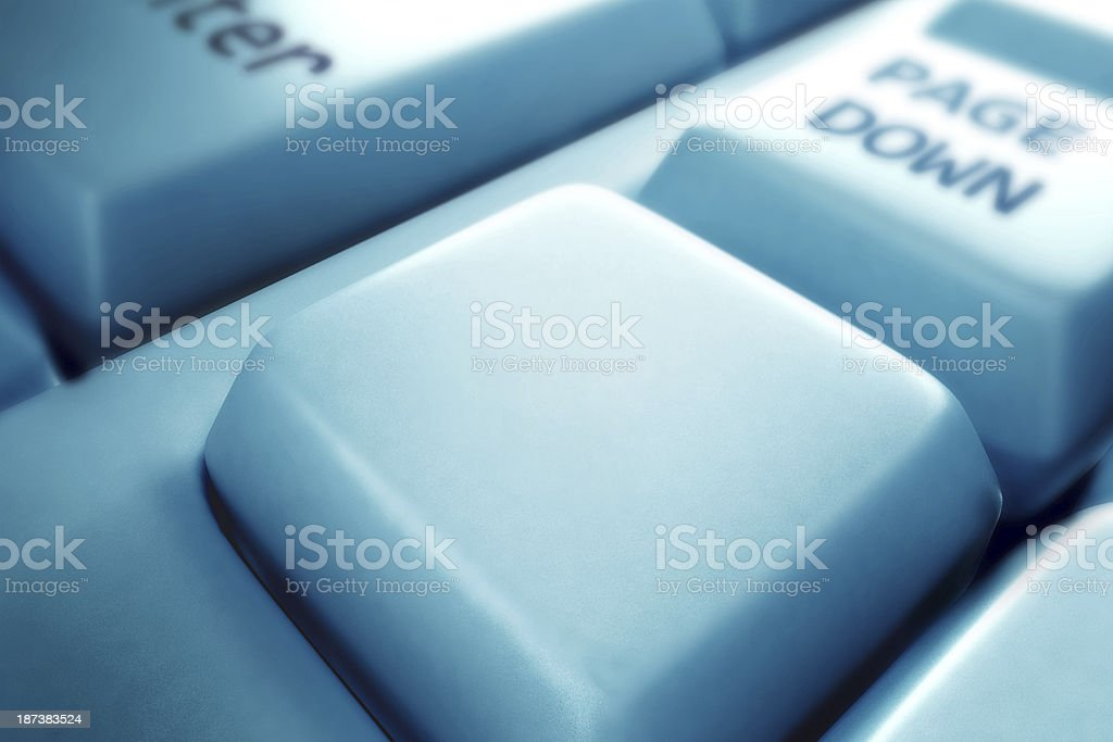 Computer key royalty-free stock photo
