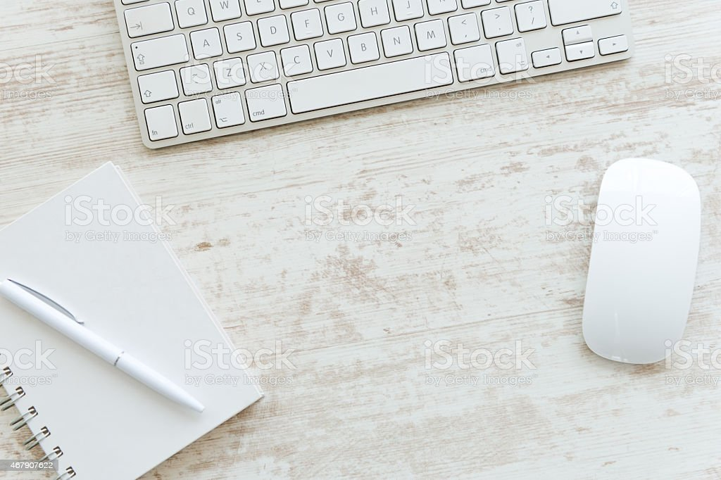 Computer Keyboard and mouse stock photo