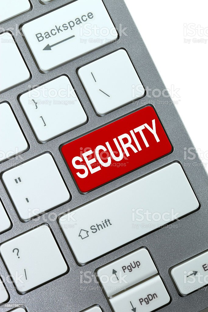 Computer keyboard concept royalty-free stock photo
