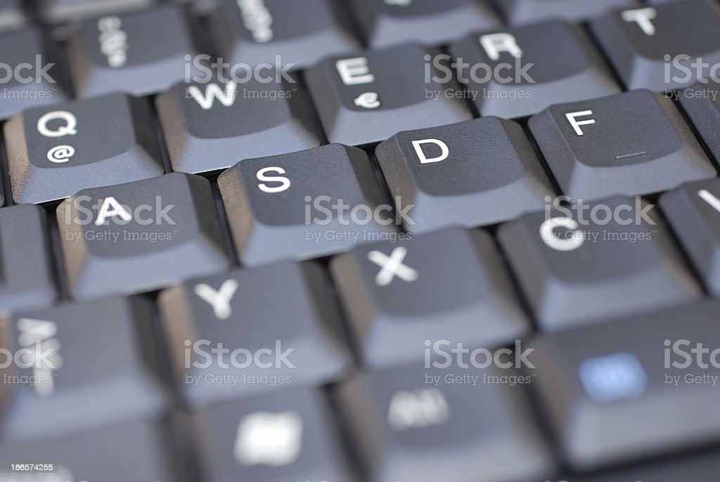computer keyboard royalty-free stock photo