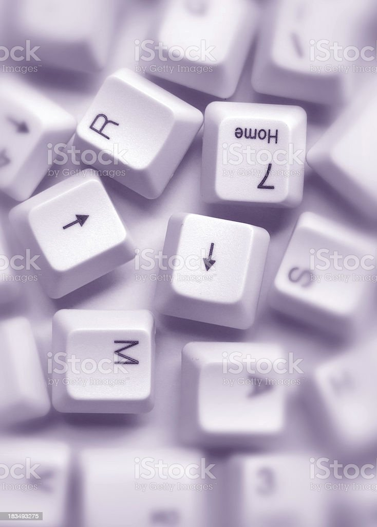Computer Keys royalty-free stock photo