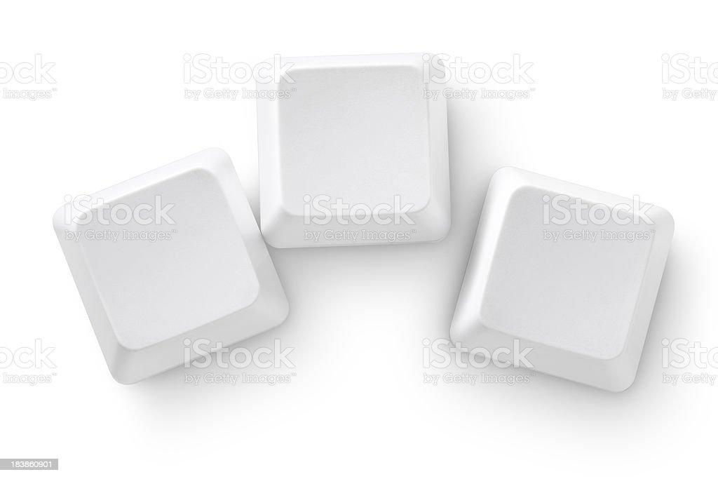 Computer keys stock photo