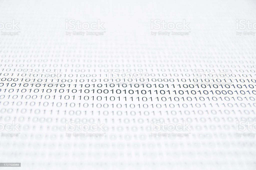 Computer Language royalty-free stock photo