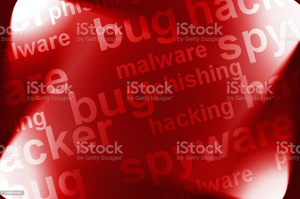 computer malware royalty-free stock photo