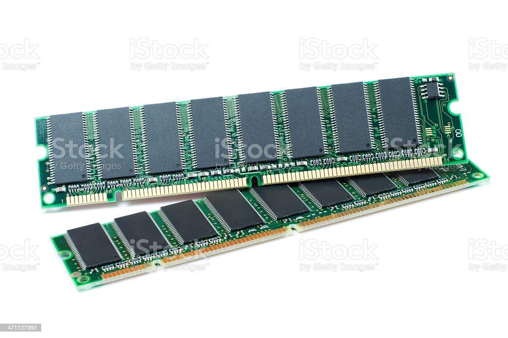 Computer memory card royalty-free stock photo
