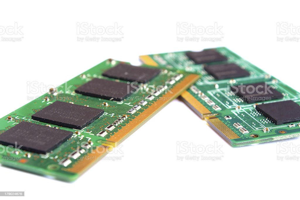 SODIMM Computer memory royalty-free stock photo