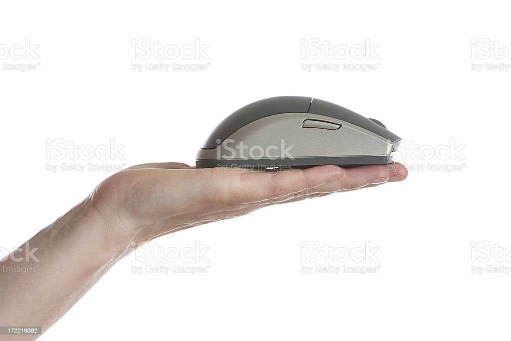 computer mouse on offer royalty-free stock photo