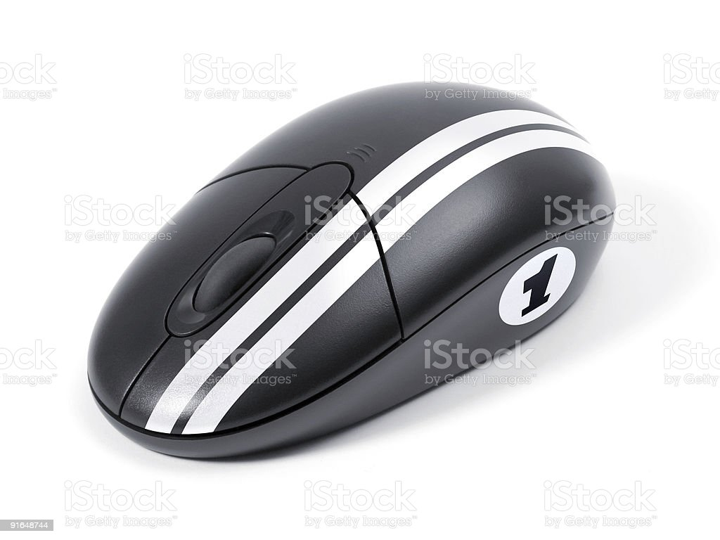 Computer mouse stock photo