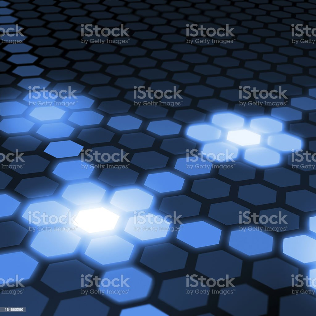 Computer Network Abstract Background royalty-free stock photo