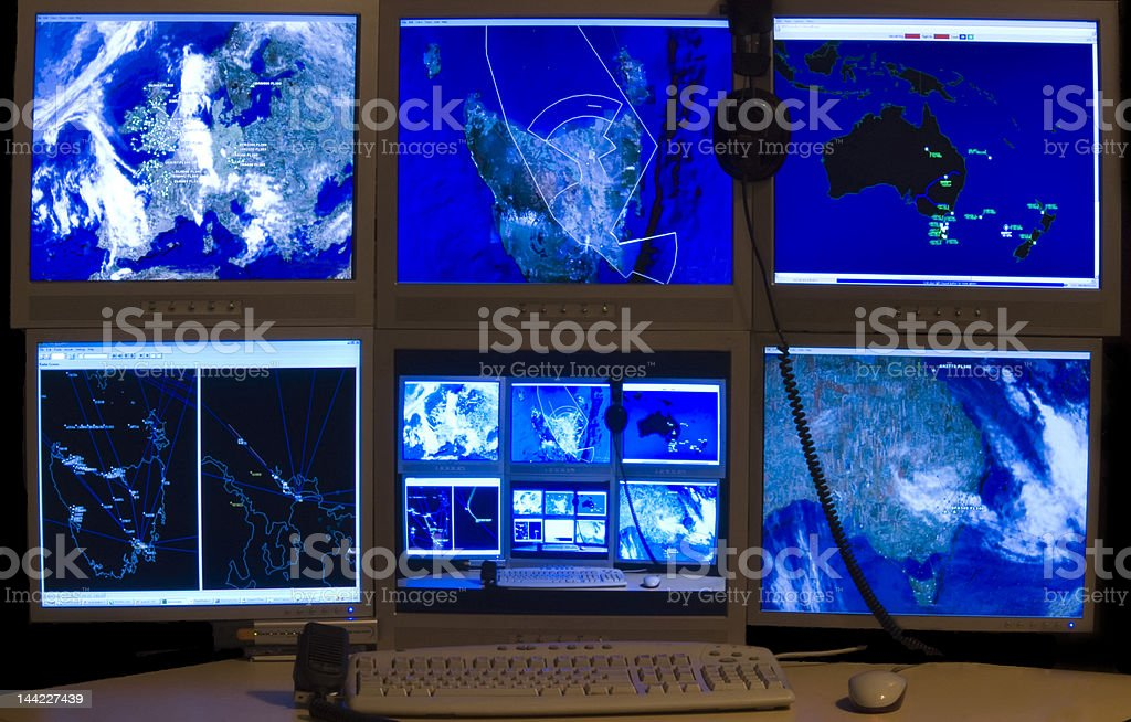 Computer Network stock photo