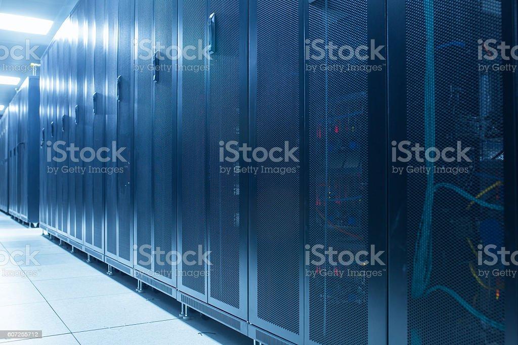 computer network server room stock photo