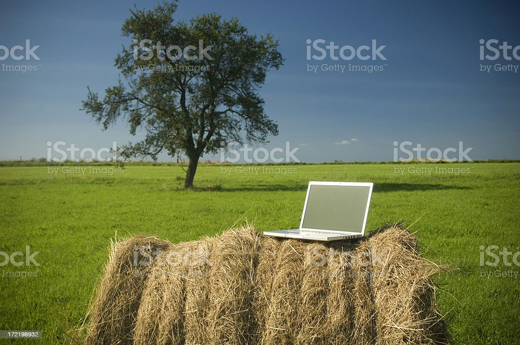 Computer outdoor royalty-free stock photo