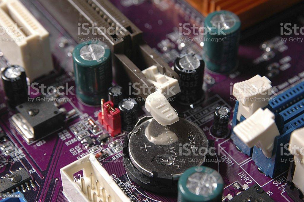 computer parts stock photo
