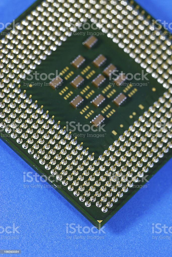 CPU Computer royalty-free stock photo