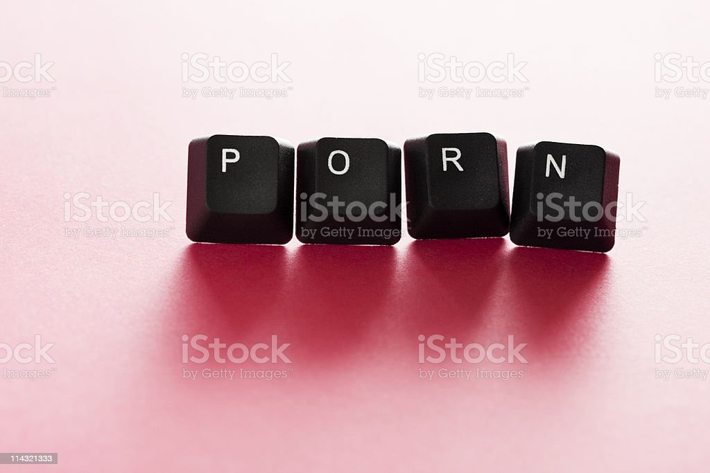 Computer PORN stock photo