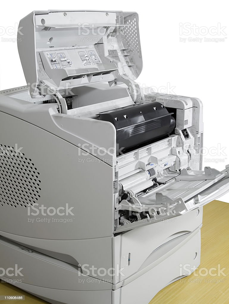 computer printer royalty-free stock photo