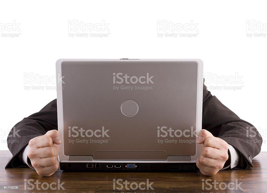 Компьютер проблемы Стоковые фото Стоковая фотография