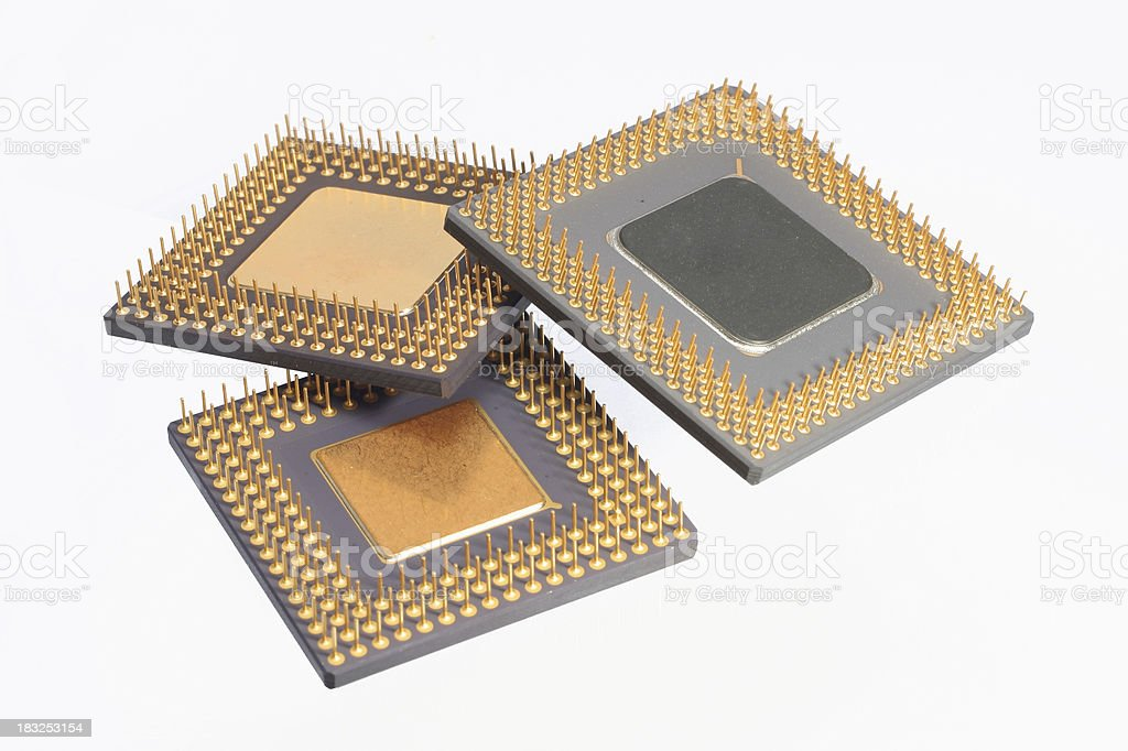 Computer Processor royalty-free stock photo