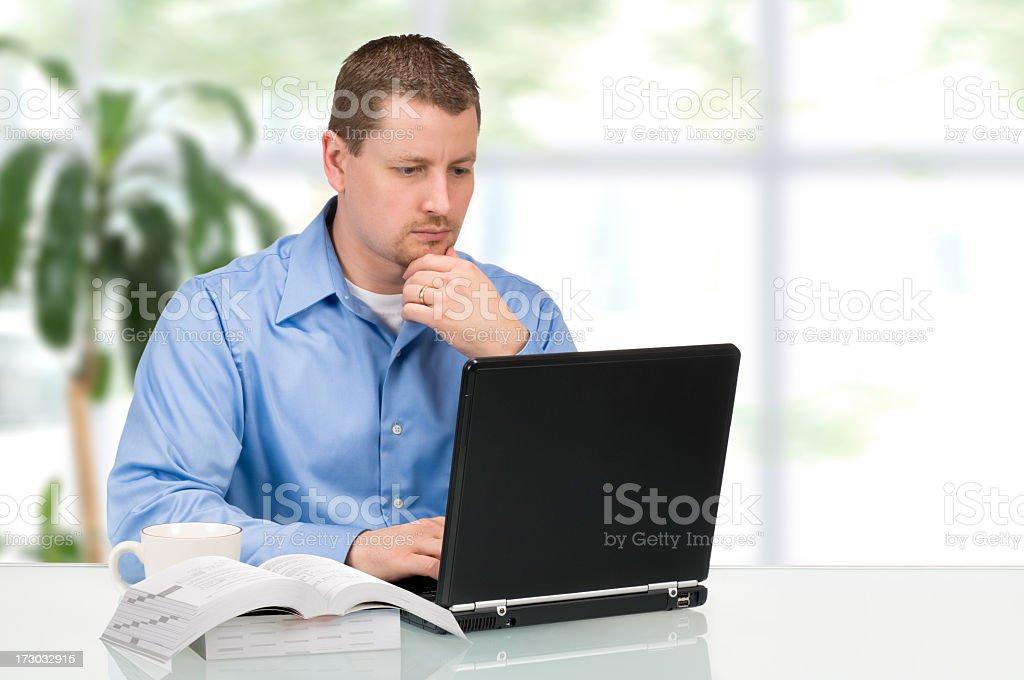 Computer Programmer royalty-free stock photo