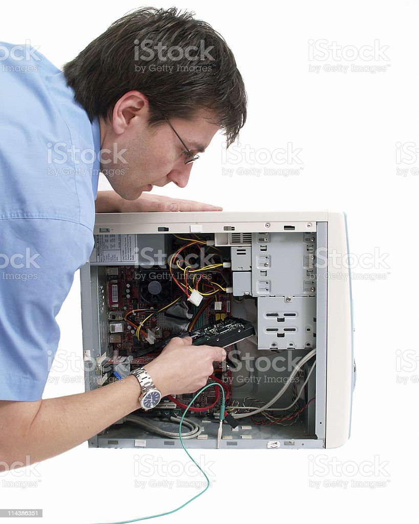 Computer Repair royalty-free stock photo
