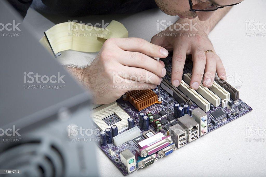 Computer Repair stock photo