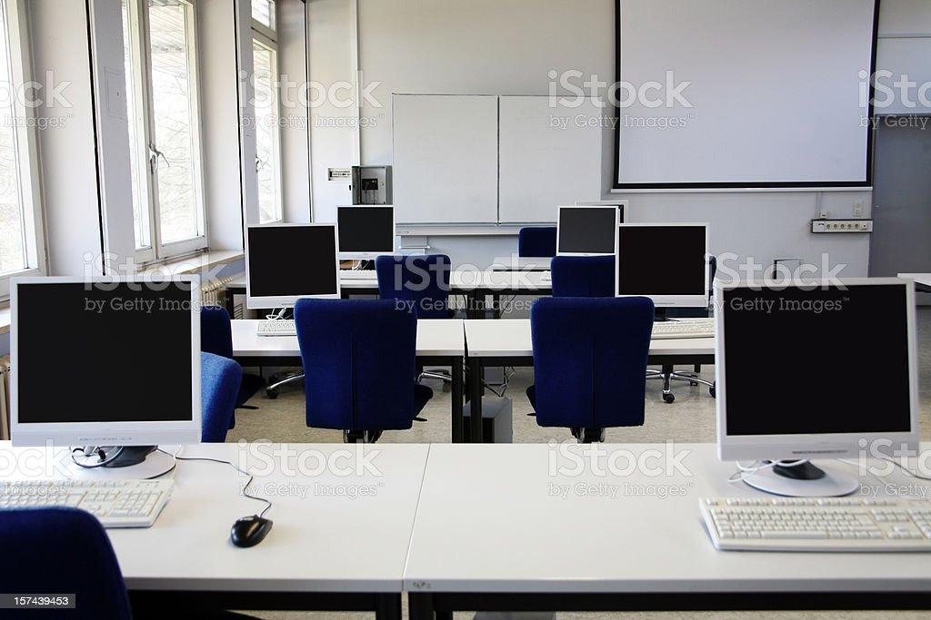 computer room royalty-free stock photo