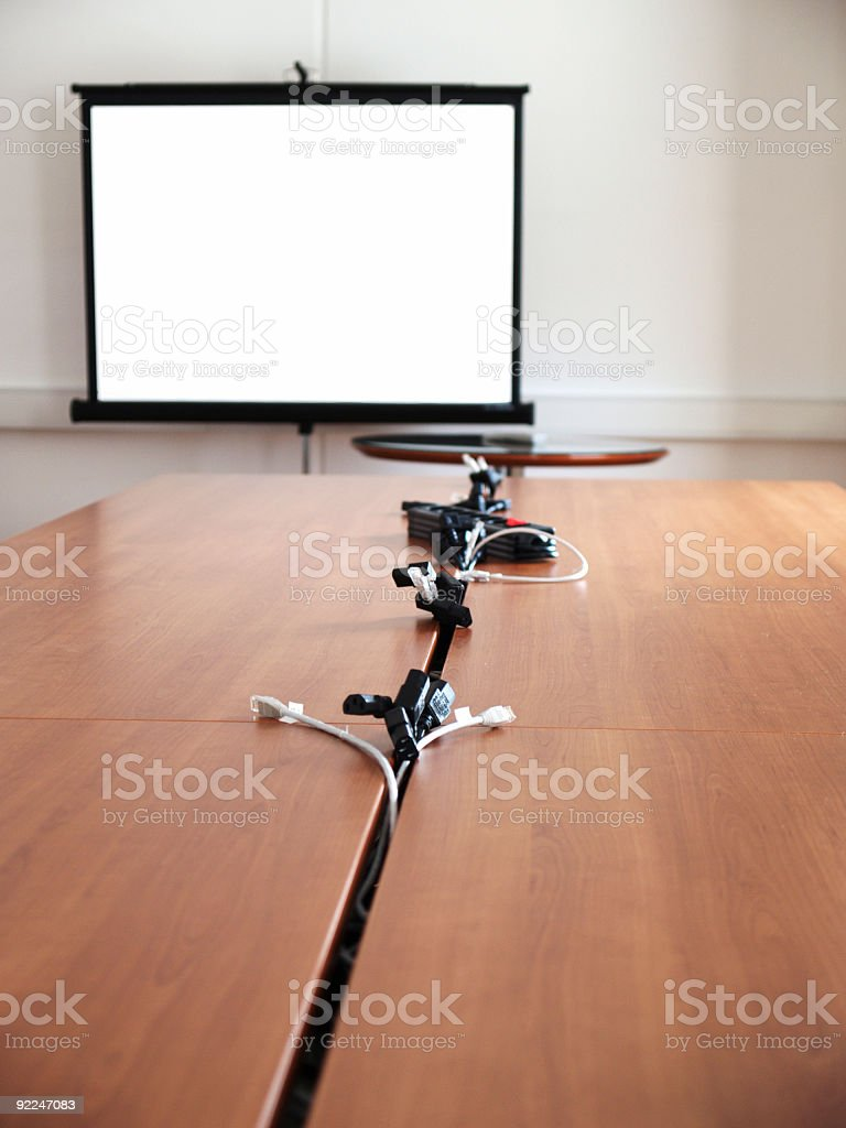 Computer room royalty-free stock photo