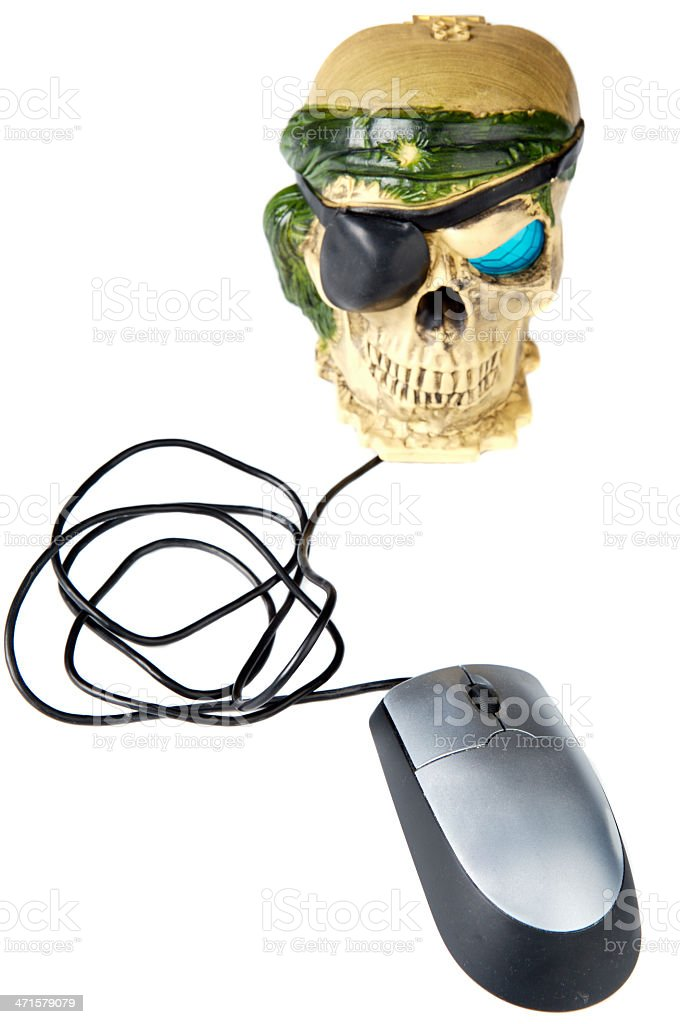 computer science piracy royalty-free stock photo