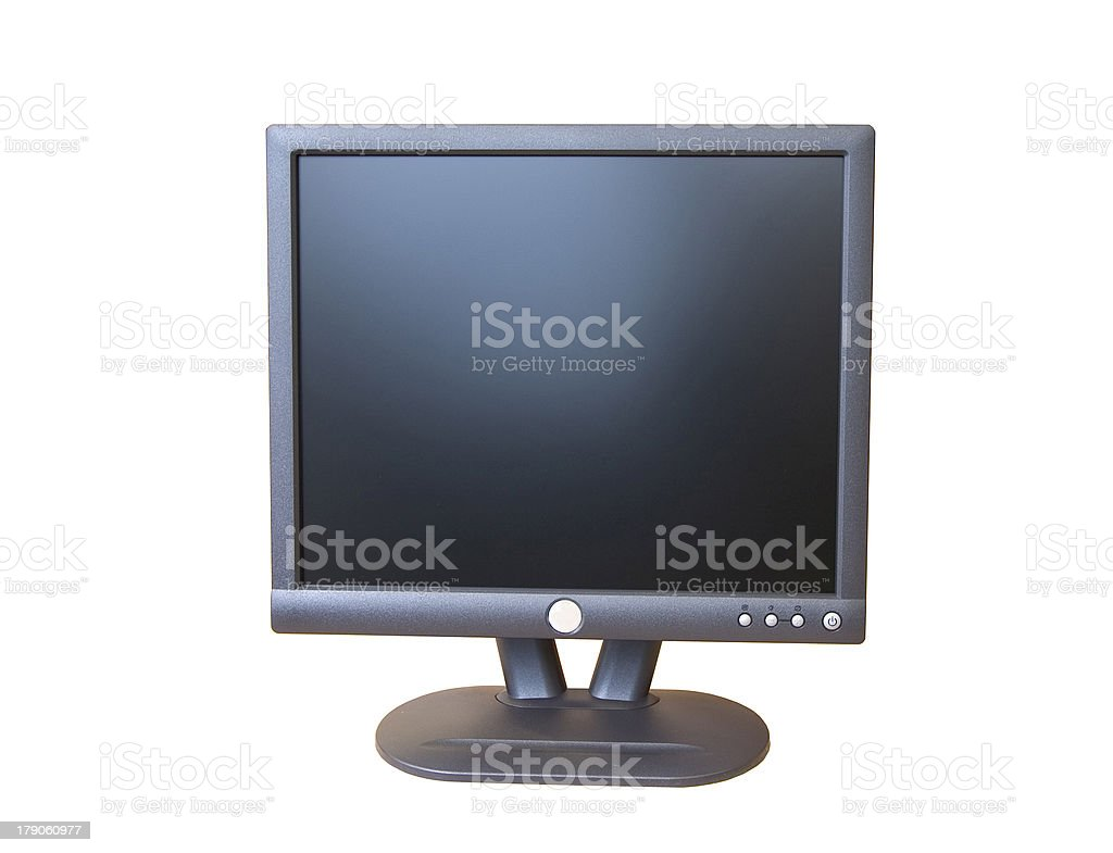computer screen royalty-free stock photo