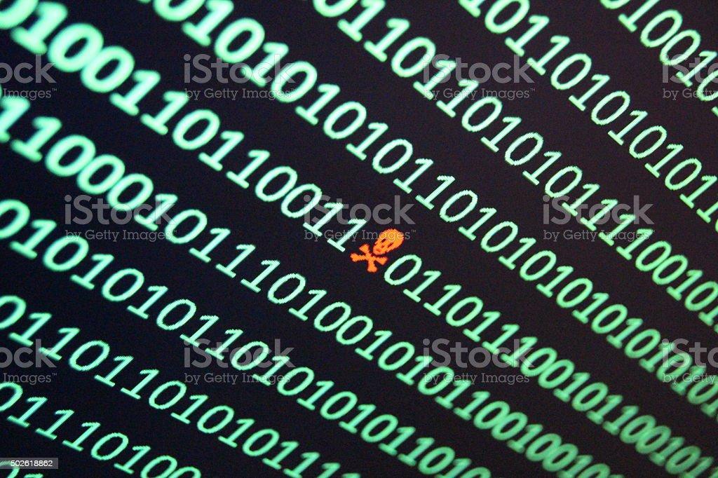 Computer security Exploit stock photo