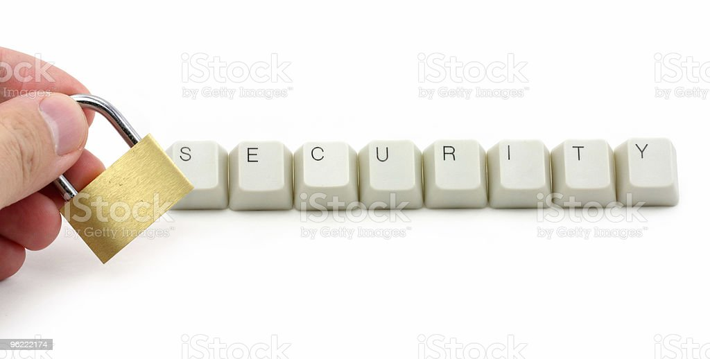 computer security protection royalty-free stock photo