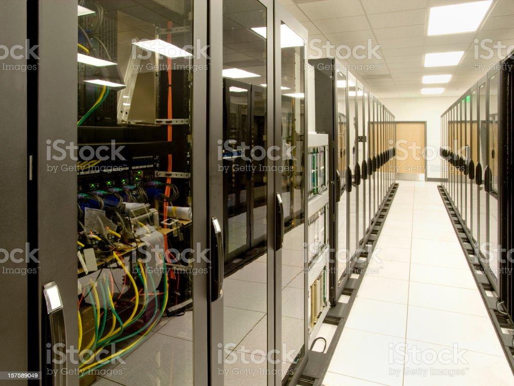Computer Server Data Center royalty-free stock photo